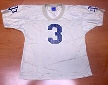 Vintage 90s Joe Montana Notre Dame Champion Jersey - super bowl champions champs niners 49ers nd chiefs theismann tate golic eifert floyd