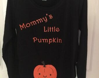 Mommy's Little Pumpkin Maternity Shirt