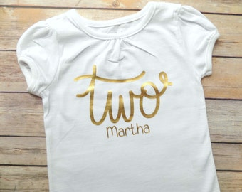 girls second birthday shirt gold second birthday shirt girls second birthday girl 2nd birthday 2nd birthday shirt two birthday shirt gold