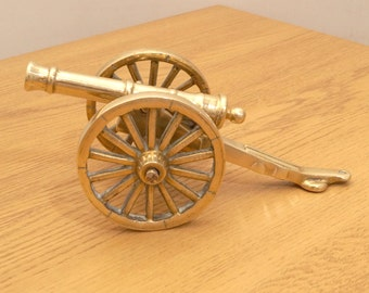 Army canon  || Vintage Solid brass