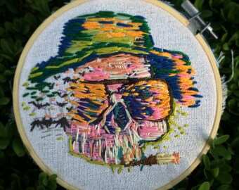 Fear and Loathing in Las Vegas Embroidery