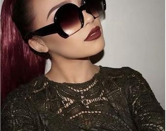 Round Partial Rim Designer style shades
