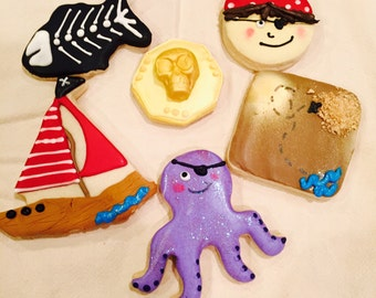 PIRATE sugar cookies
