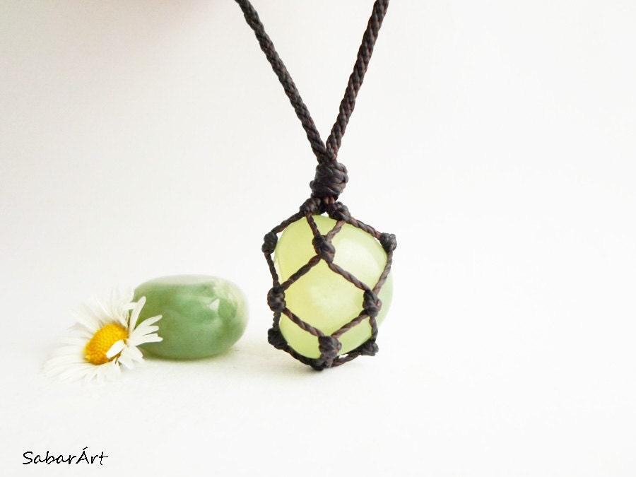 Serpentine necklace serpentine pendant mens necklace chakra  Serpentine neck...