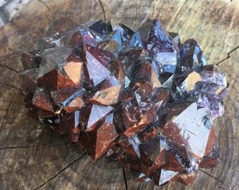 Crystal - Red Amethyst - auralite - Amethyst - Thunder Bay Amethyst  - Red Amethyst - Canada - Iron - Red - Purple - Altar - Thunder Bay - C