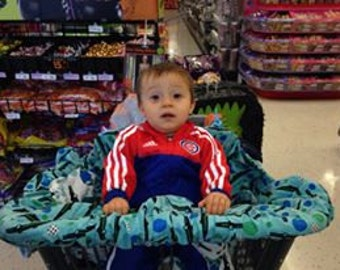 Grocery Cart/High Chair Seat Cover