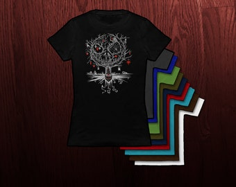 Ornamental Nightmare- Ladies Fit Tshirt