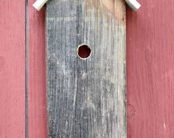 Hand Made Birdhouse Facade