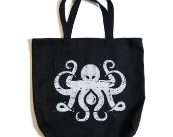 Inktopus Nautical Octopus Tote Bag