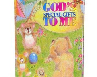 Personalized Book God's Special Gifts to Me Introductory Offer