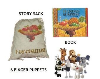 Handa's Surprise Story Sack Bundle