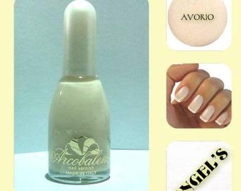 nail polish, long-lasting color IVORY