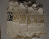 "Machine Knitting ""Baby Body""  Pattern PDF DOWNLOAD"