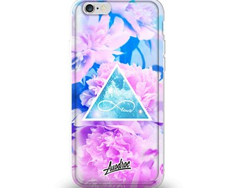 iPhone Case Floral Infinity