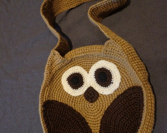 brown owl shoulder bag