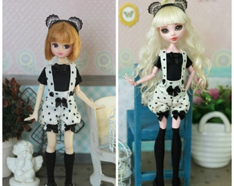 Outfit  for Monster High / EverAfterHigh, Blythe,  Azone pure neemo L/M/S/XS, Momoko, Obitsu 24/25 and same doll 1/6 size