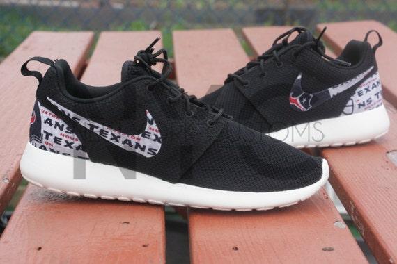 ab3cefb2743d Houston Texans Nike Roshe Run Custom by NYCustoms on Etsy outlet ...