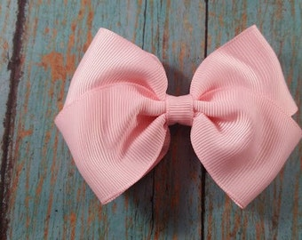 Light Pink Hair Bow, Medium Light Pink Hair Bow, Light Pink Bow, Pink Bow, Cute Light Pink Hair Bow, Toddler Light Pink Hair Bow, Toddler