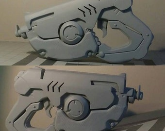 Tracer Gun: Hand crafted cast pair with parts parts for completion (pre-order sale)