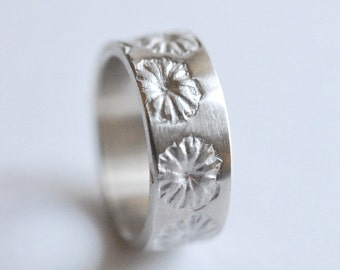 "Ring in Silver 925 ""Poppy"""
