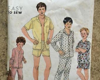 Simplicity pattern Boys Pajamas