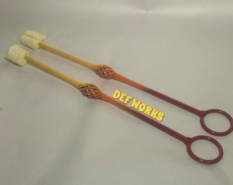 Pair of Handmade fire eating torches