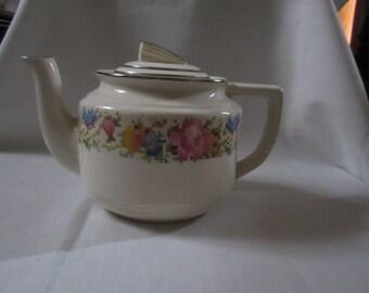 Harker Petit Point Tea Pot - No Stains