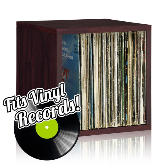 Vinyl Record Storage Cube And Stackable Record Album By