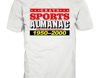 Back To The Future - Grays Sports Almanac t-shirt