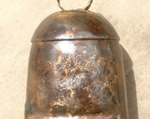 Vintage Indian Brass Cow Bell