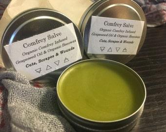 Organic Comfrey Salve