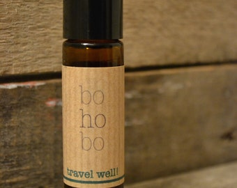 Travel Sickness aromatherapy - Travel Well