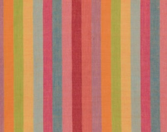 Kaffe Fassett for Rowan and Westminster Fabrics Woven Stripes BROADXBLISS  Half Yard cut and Yardages Available