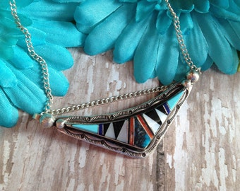 Vintage Native American Necklace,  Necklace, Gift For Her, Native American Jewelry