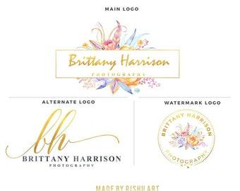 Premade Branding Kit - Photography Logo Set- Watermark - 68