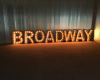 Broadway Lights Etsy