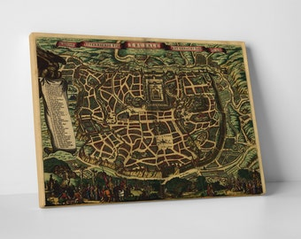 Vintage Apple 'Ierusalem' Gallery Wrapped Canvas Print