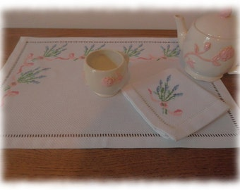 lavender table cloth