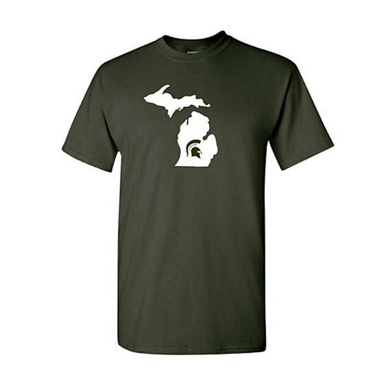 Michigan State Spartan Michigan Shirt Michigan Shirt Msu