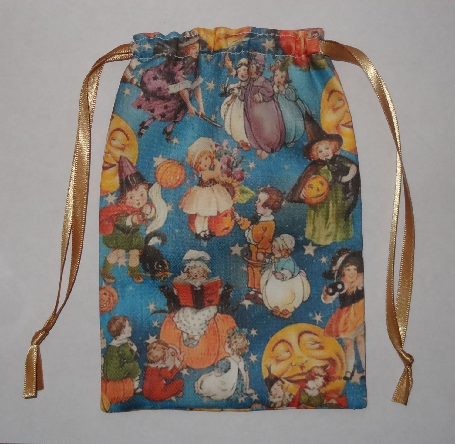 Retro Vintage Halloween Tarot Card Bag Ideal For Most Angel