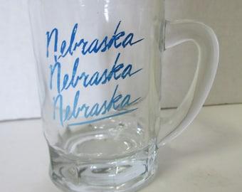 Vintage Nebraska Shot Glass Mug