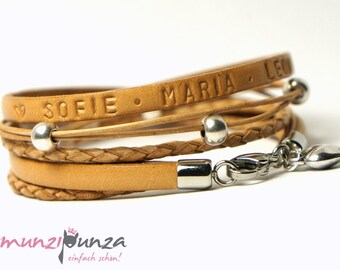 Leather Bracelet name article 131