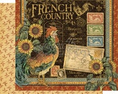 CLEARANCE SALE!  Graphic 45 French Country Paper Kit