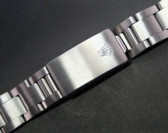 Original Vintage ROLEX 19mm Stainless Steel Watch Band Ref. 78350 End Link: 557 Band Size - 140mm (11419)