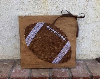 Football String Art