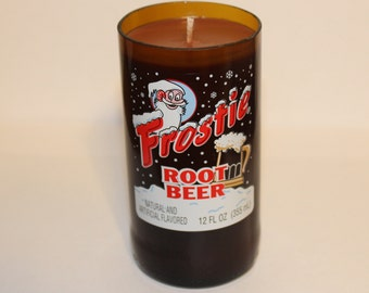 Frostie Root Beer Bottle Root Beer-Scented Candle - Amazing Smell!