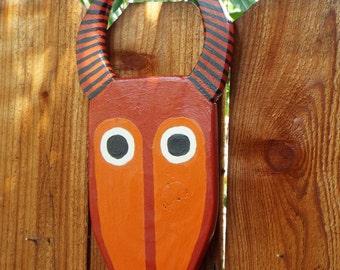 Hand Made Tribal Antelope Mask