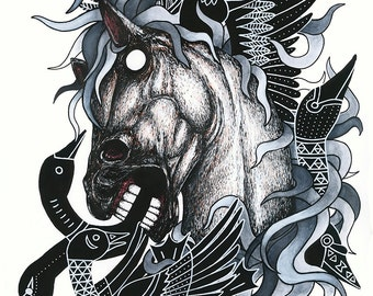 Horse (Print)