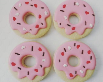 Pink donuts(12)