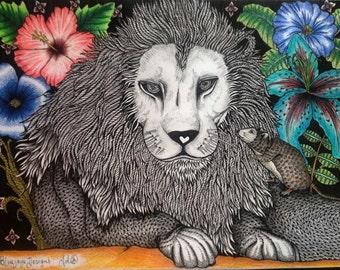 Just Lion Abouts (Original)